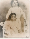 Virginia (Jennie) and Elsie (the eldest children of Charlie Anderson) Their mother was Charlie's first - Estella Roach