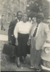 Millard and Janie with Elgin Anderson (son of Charlie Anderson)