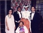 Felicia Stokes, Harvey Simpson, and Grandsons