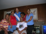 Floyd's children,Daphne, Sharon, Bruce, Lynette, Mark + cousin Bubba