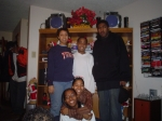 Shayla, Trina, Tony, Deidra and Kyle